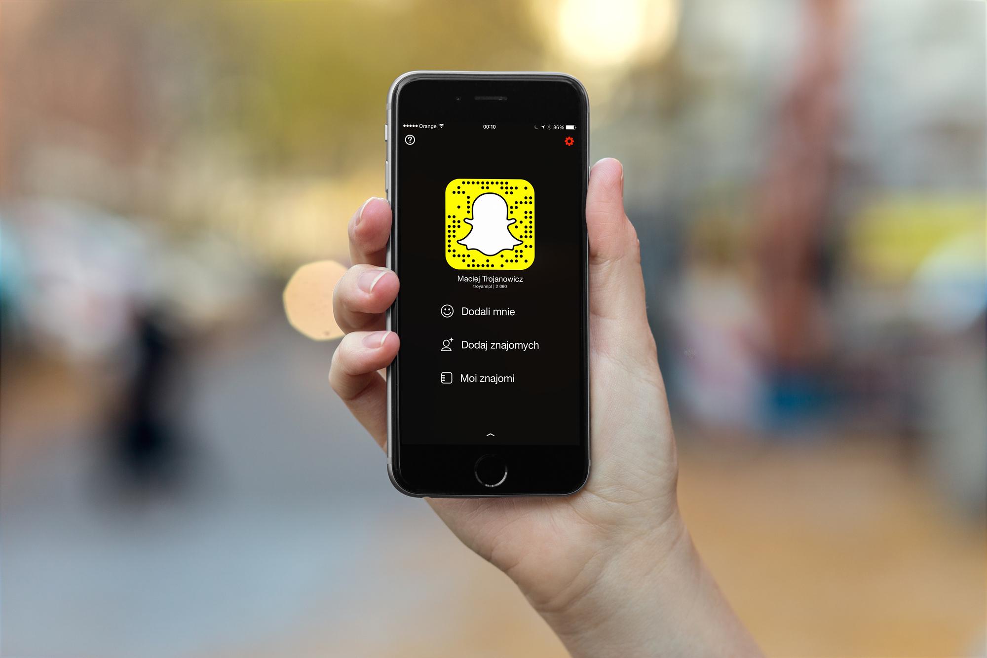 Trzy kroki do zrozumienia Snapchata