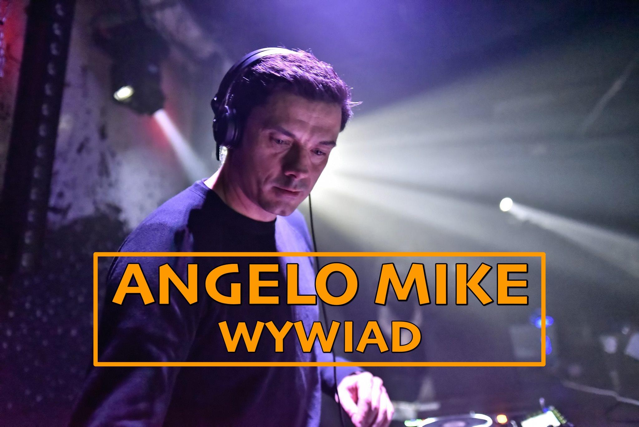 """""""Techno jeszcze nigdy nie było tak modne"""" – wywiad z Angelo Mike"""