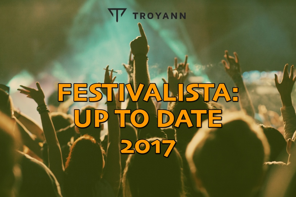 Festivalista: Up To Date 2017