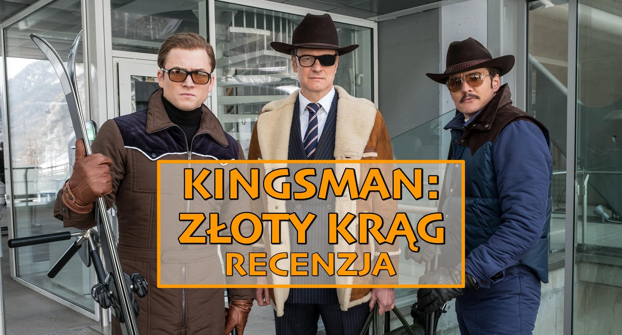 """Zachwianie złotego środka – recenzja """"Kingsman: Złoty Krąg"""""""