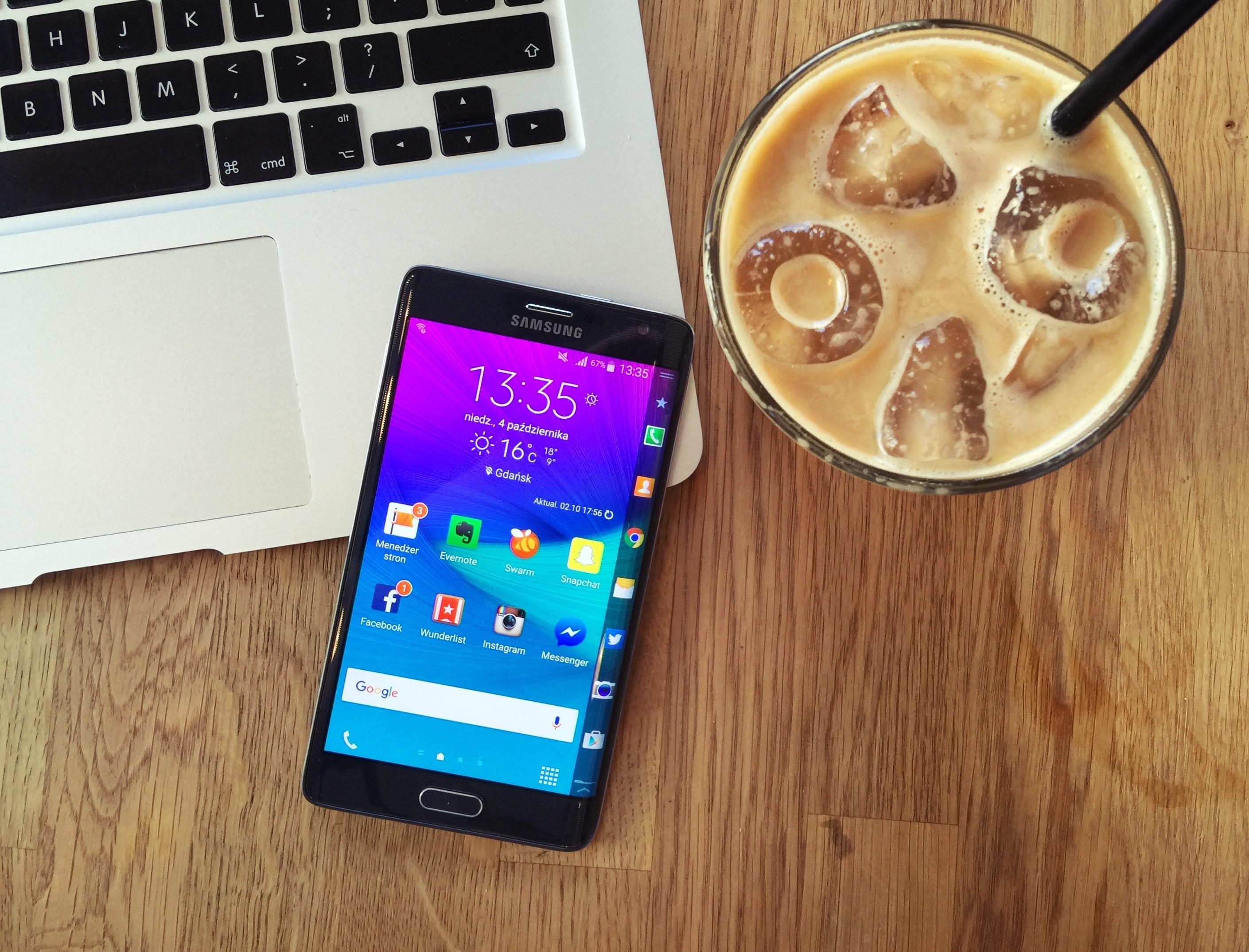 Jest życie na krawędzi – test Samsunga Galaxy Note Edge