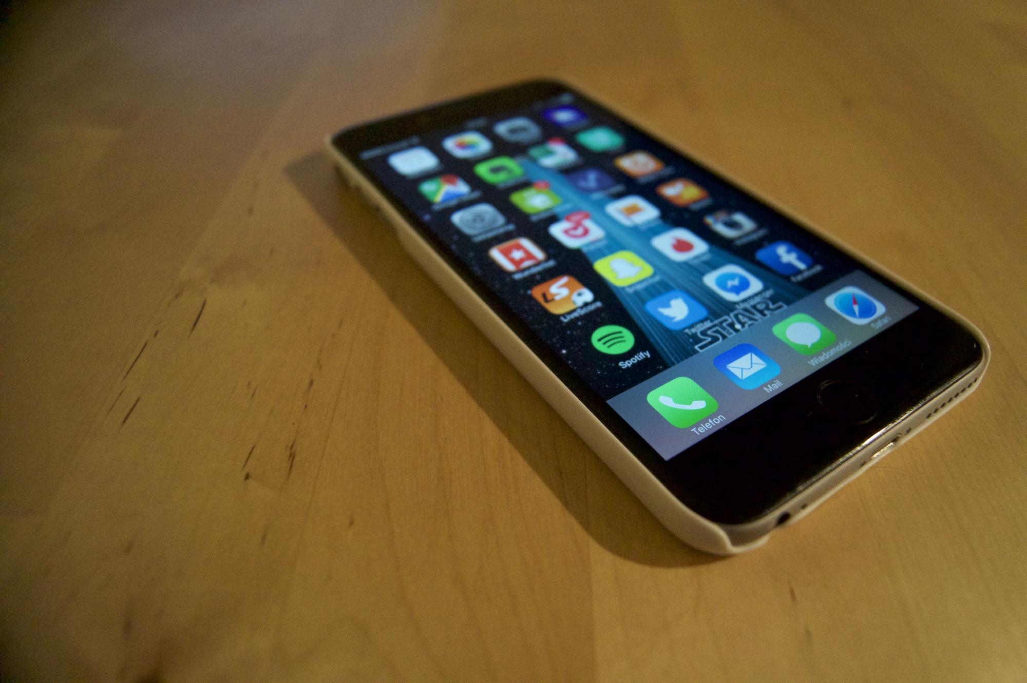 Przesyt mobilnych aplikacji