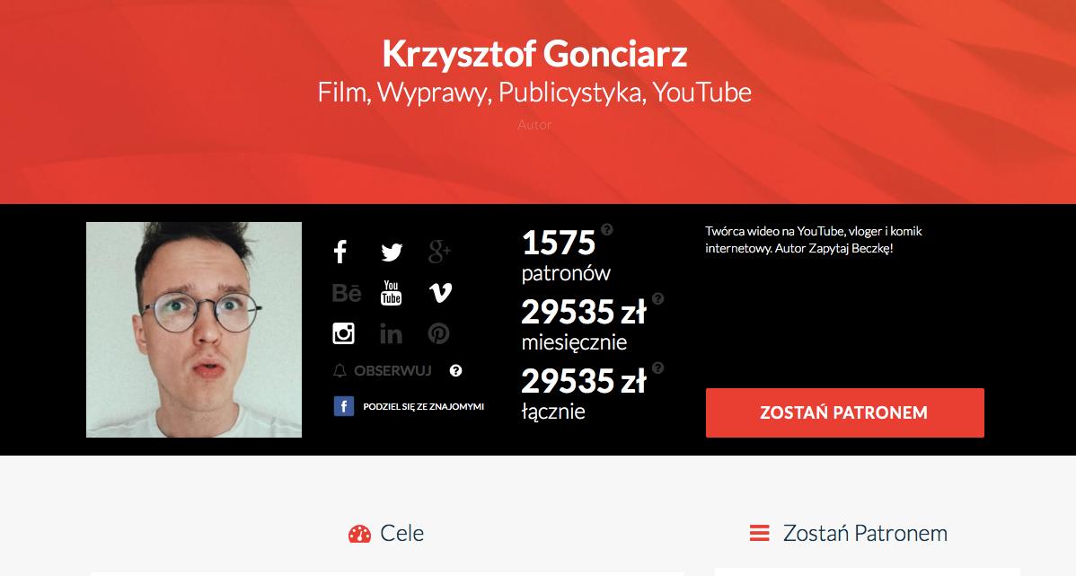 Czy Gonciarz i Patronite zmienią polskie media?
