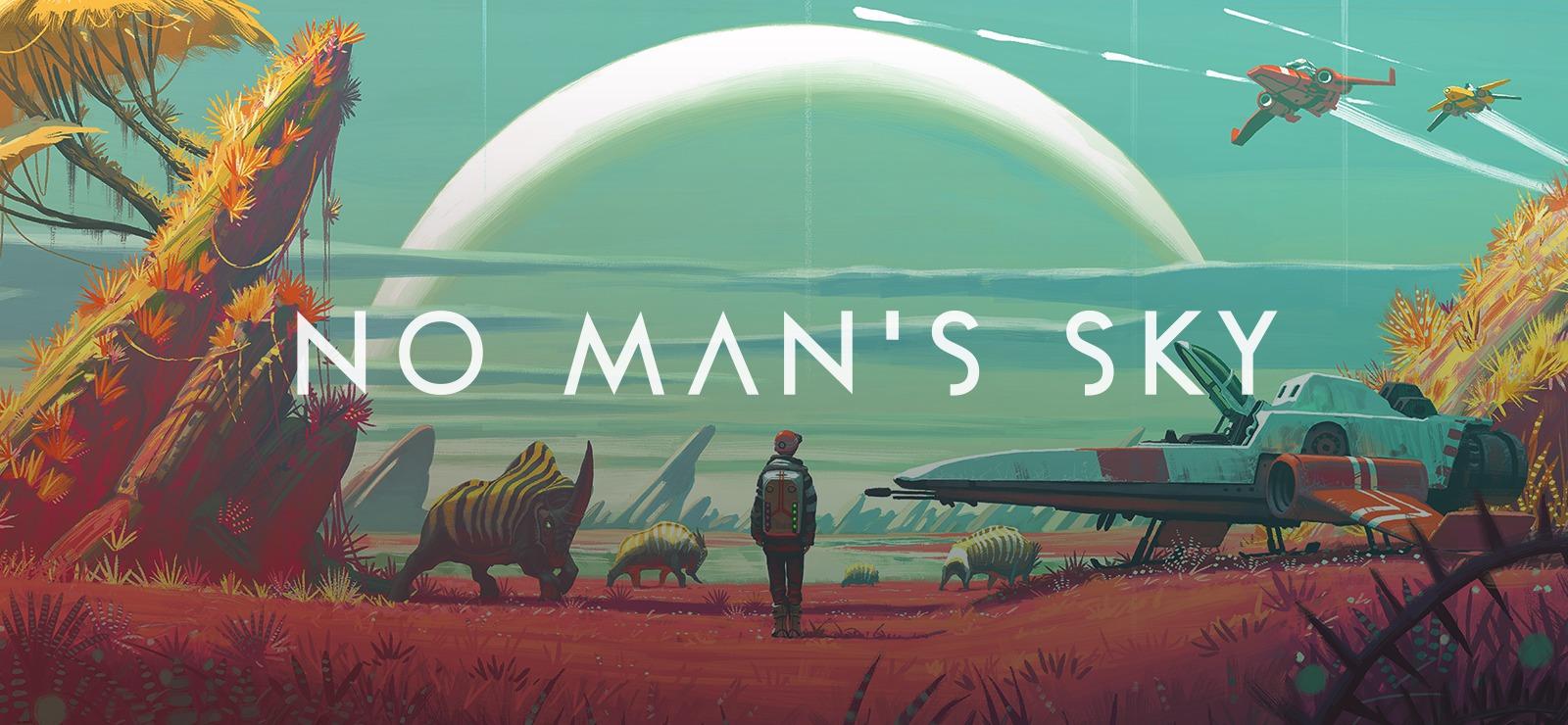 """Kosmos taki wielki, wow, czyli krótko o grze """"No Man's Sky"""""""